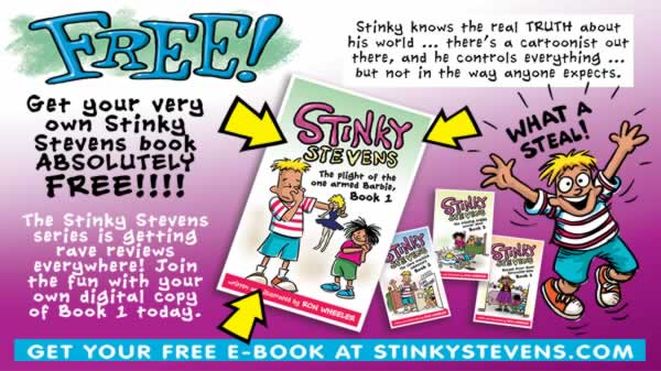 FREE Stinky Stevens eBook 1